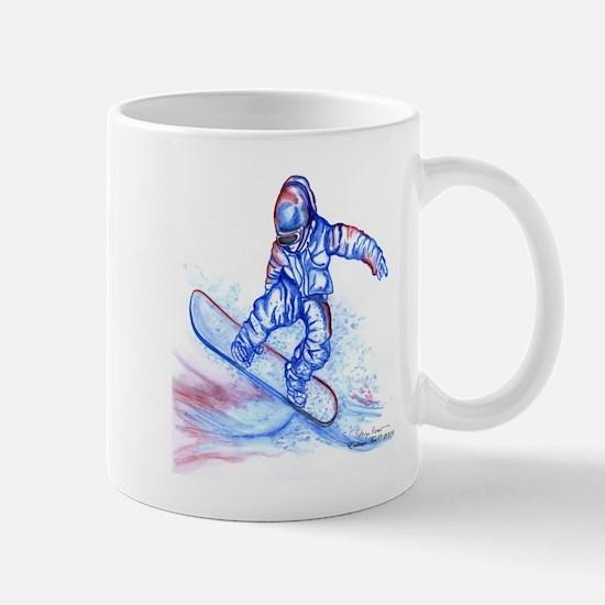 Snowboarder III Mug