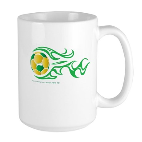 Australia World Cup Bid Large Mug