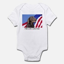 For Lab & Country Infant Creeper