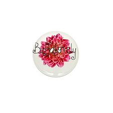 Buffalo Dahlia Mini Button
