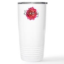 Buffalo Dahlia Travel Mug