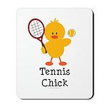 Tennis Chick Mousepad