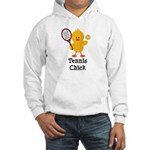Tennis Chick Hooded Sweatshirt