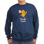 Tennis Chick Sweatshirt (dark)