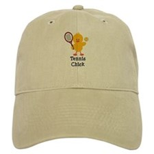 Tennis Chick Baseball Cap