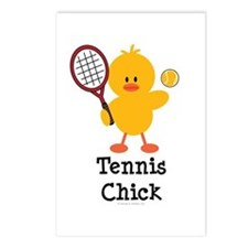 Tennis Chick Postcards (Package of 8)