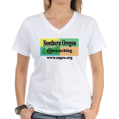 sogeo Women's V-Neck T-Shirt