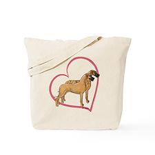 NBrNF Stand Heartline Tote Bag