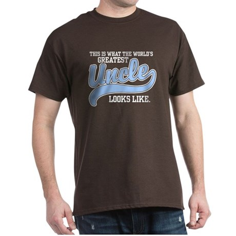 World's Greatest Uncle Dark T-Shirt