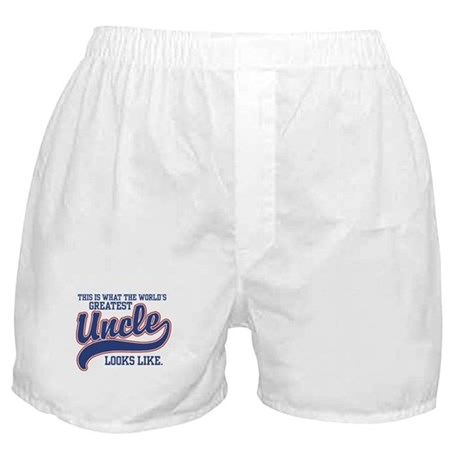 World's Greatest Uncle Boxer Shorts