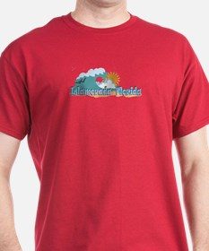 Islamorada FL - Beach Design T-Shirt