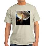 Mushroom Gills Backlit Light T-Shirt
