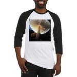 Mushroom Gills Backlit Baseball Jersey