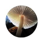 """Mushroom Gills Backlit 3.5"""" Button (100 pack)"""