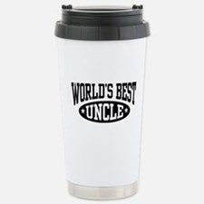 World's Best Uncle Travel Mug