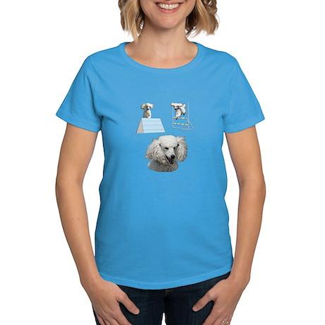 Run Poodle Run Women's Dark T-Shirt