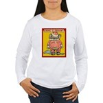 Behind EDDIE ELEPHANT Women's Long Sleeve T-Shirt