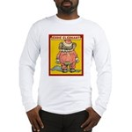 Behind EDDIE ELEPHANT Long Sleeve T-Shirt
