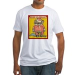 Behind EDDIE ELEPHANT Fitted T-Shirt