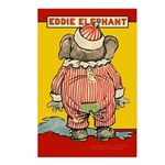 Behind EDDIE ELEPHANT Postcards (Package of 8)
