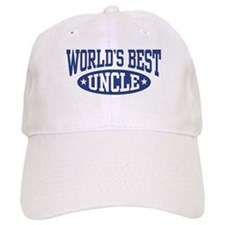 World's Best Uncle Baseball Cap