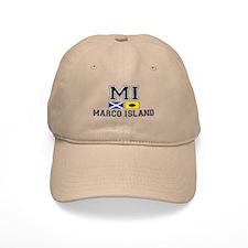 Marco Island FL - Nautical Flags Design Cap