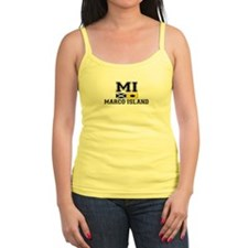 Marco Island FL - Nautical Flags Design Ladies Top