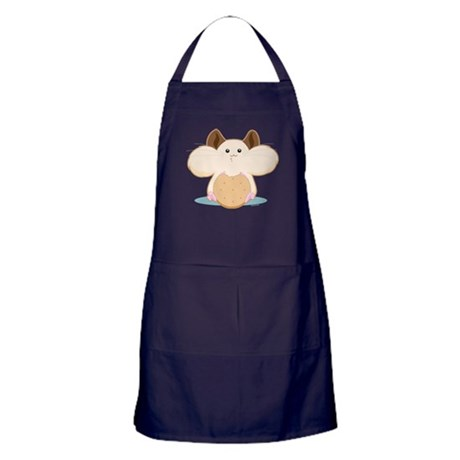 Hungry Hamster Apron (dark)