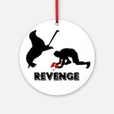 Revenge of the seals Ornament (Round)