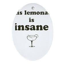 mall cop Lemonade Oval Ornament