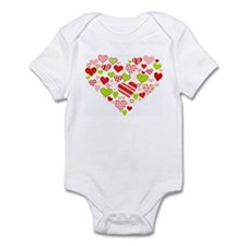 Heart of Hearts Infant Creeper