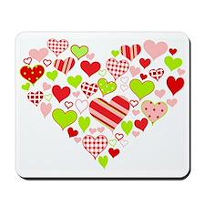 Heart of Hearts Mousepad