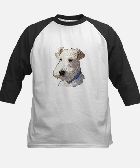 Wire Fox Terrier Kids Baseball Jersey