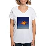 DEC 14TH DAY#348. PRAYER ? Women's V-Neck T-Shirt