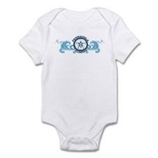 Pensacola Beach FL - Sand Dollar Design Infant Bod