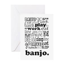 The Banjo Life Greeting Card