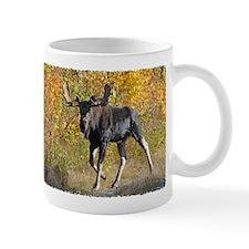 Bull walking Mug