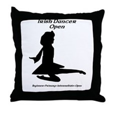 Girl (E) Open - Throw Pillow