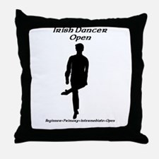 Boy (E) Open - Throw Pillow