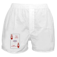 You've Aced My Heart Boxer Shorts