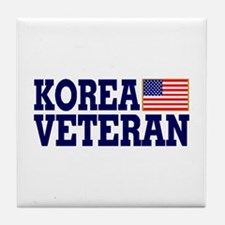 KOREA VETERAN Tile Coaster