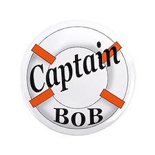 """Captain Bob's 3.5"""" Button"""