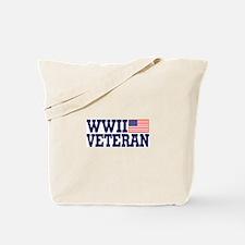 WWII VETERAN Tote Bag
