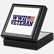 WWII VETERAN Keepsake Box