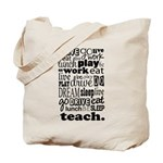 Teacher's Life Tote Bag