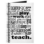 Teacher's Life Journal