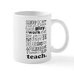 Teacher's Life Mug