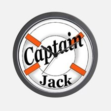 Captain Jack Wall Clock