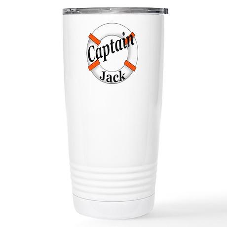 Captain Jack Stainless Steel Travel Mug