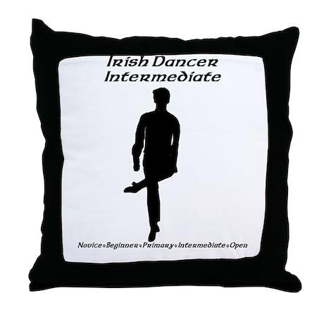 Boy (A) Intermediate - Throw Pillow